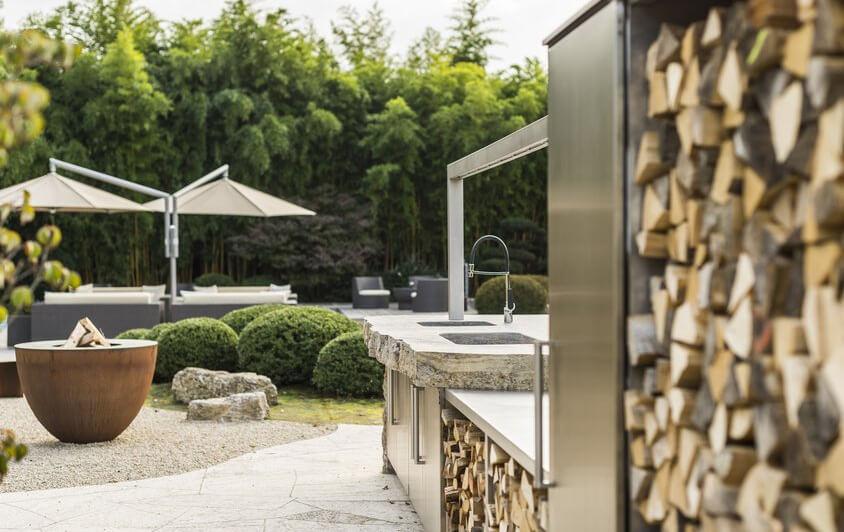 Outdoorküche Mit Kühlschrank Bedienungsanleitung : Küchenstudio in mühlau designerküchen: planung & beratung