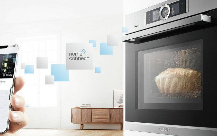 Home Connect Backofen