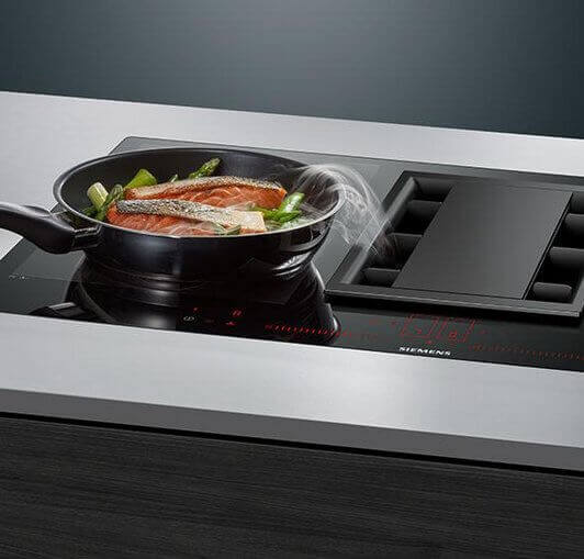Siemens Induction Air Kochen
