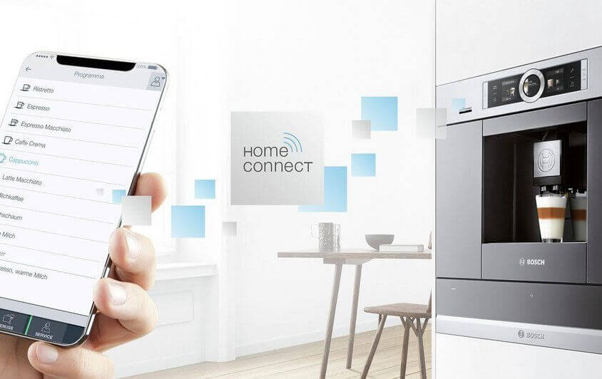 Home Connect Kaffeeautomat