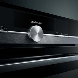 Siemens studioLine blacksteel backofen